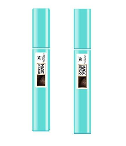 L'Oréal Paris Magic Retouch Précision Mascara Châtain Foncé 8 ml - Lot de 2