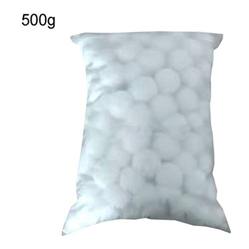 300/500/700/1300 g Filter White Ball Swimming Pool Reinigungsball High Density Fiber Ball Sandfilter Swimming Pool Filter Cleaning Tools As see the picture 2