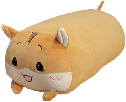 Ranking TOP20 Kruti Cute Animal Big Fat Hamster 60cm Brown Toys Pillow Soft Spring new work