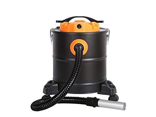 Aspirador de cenizas 1200W con depósito de 20L y ruedas para chimeneas, estufas, barbacoas PURLINE HAVC-04