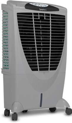 Symphony Winter i + Desert Air Cooler (White, 56 Litres)
