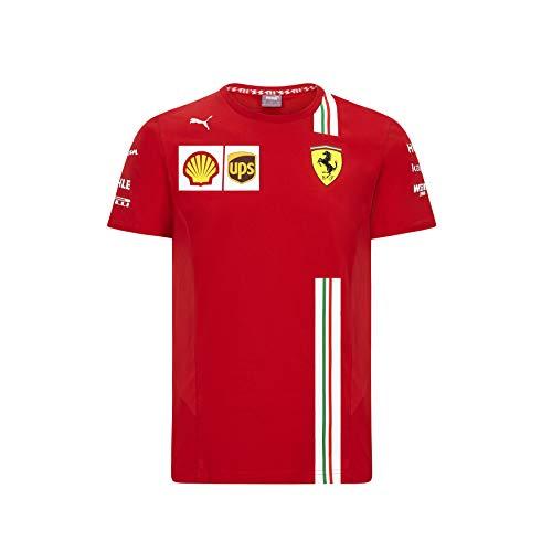 PUMA Herren Ferrari Team T-Shirt, Rosso Corsa, L
