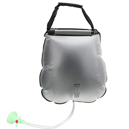Demeras Bolsa de Ducha portátil con acumulación de Calor para duchas al Aire Libre para Caminatas para Amantes de Actividades al Aire Libre para Viajar