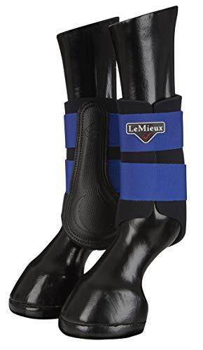 LeMieux Unisex-Erwachsene ProSport Grafter Brushing Boots Pair Bürstenstiefel, Benetton Blue, m