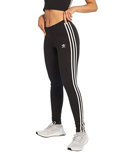 adidas 3 STR Tights, Negro (Black), 38 para Mujer