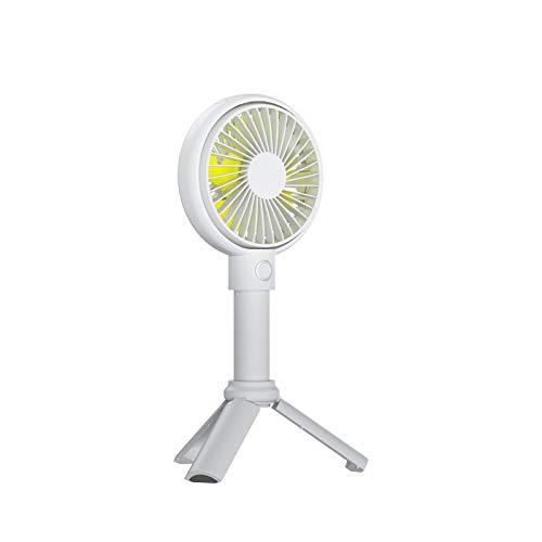 BMS Mini Ventilatore Portatile , Ventilatore Tascabile USB a 3 Velocità per Scrivania, Mini Ventola da Tavolo Silenzioso da Funzionamento Batteria 3-13 ore,per Sportivo,Interni, Esterno (3350mAh)