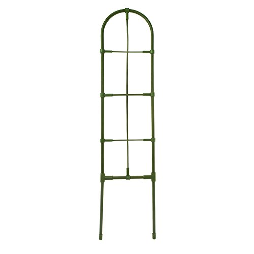 KunmniZ Garden Trellis - Climbing Plant Support Frame DIY Flower Vines Pot Stand Garden Tools