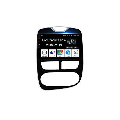 Autoradio GPS Navigazione Music 9 Pollici HD Touch Multimedia Per Renault Clio 4 2016-2019 4 Cores 2G+32G Collega E Usa Support Controllo Del Volante Chiamate in Vivavoce Telecamera Posteriore
