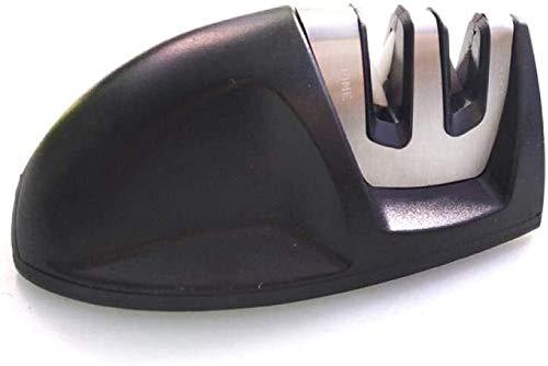 MYXMY Aiguiseur, outil en acier rapide multifonctions tungstène Céramique Affûtage for des ménages en deux parties Sharpener