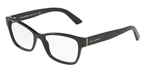 Dolce&Gabbana DG3274 Eyeglass Frames 501-54 - Black DG3274-501-54