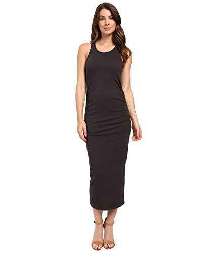 Michael Stars Women's Racerback Midi Dress, Oxide, Medium