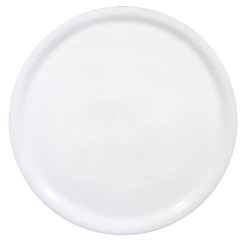 Saturnia Napoli Set Piatti Pizza, Porcellana, Bianco, 6 unità