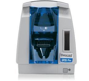 Datacard SP25 Plus - Impresora de tarjetas, color y