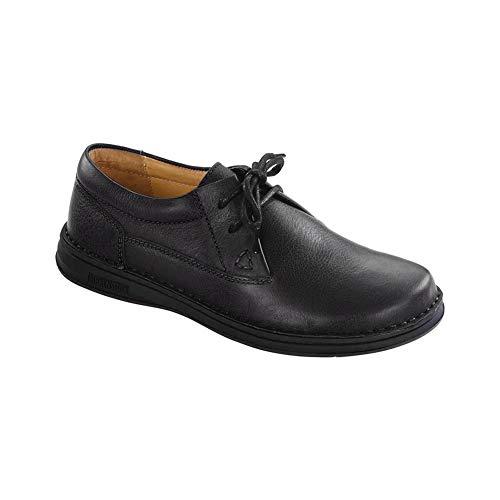 BIRKENSTOCK Memphis Shoe - Men's Black Leather 41