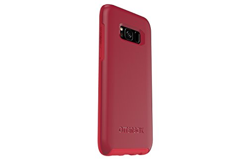 Otterbox Symmetry Series for Samsung Galaxy s8 - Retail Packaging - Rosso Corsa (Flame Red/Race Red)