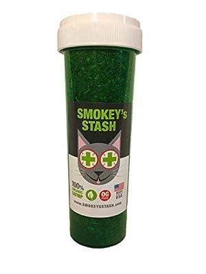 Smokey's Stash Organic Catnip OG puss | Dried Potent Weed for Cats Premium nip - Large