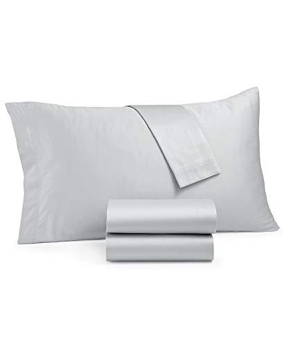 Calvin Klein Monaco Sheet Set King Grey
