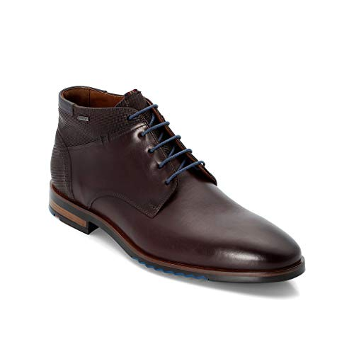 LLOYD Herren Desert Boots Vardy, Männer Stiefeletten,Stiefel,Halbstiefel,Schnürboots,Bootie,flach,T.D.Moro/Pacific,9 UK / 43 EU