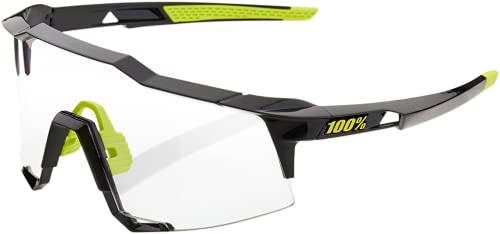 100% Speedcraft Photochromic - Gafas de deporte, color negro