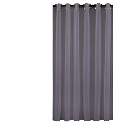 Sfoothome Small Polyester Shower Curtain Waterproof Bathroom Curtains Without Hooks,Gray(36 Inch Wide x 72Inch)