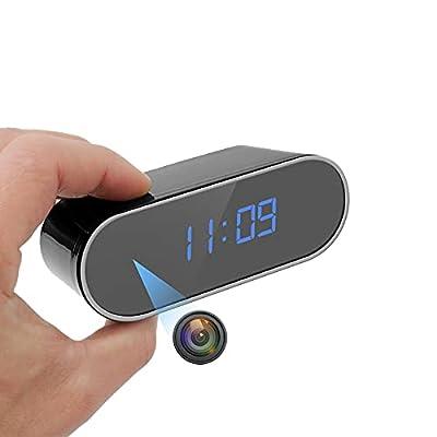Amazon - 50% Off on Hidden Camera Alarm Clock 1080P WiFi Mini Spy Camera Clock with Night Vision/Motion Detection