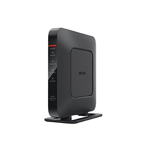 BUFFALO WiFi 無線LAN ルーター WSR-2533DHPL 11ac 1733+800Mbps 4LDK 3階建向け 【iPhone8/iPhoneX/Echo ...