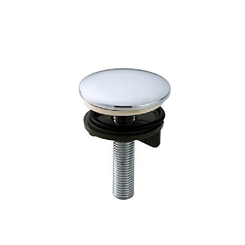 Küchenarmatur, Hahnlochstopfen Hahnlochdeckel Verchromtes Messing Küchenarmatur Loch Blindstopfen Metallstopfen 50 mm für Spülen