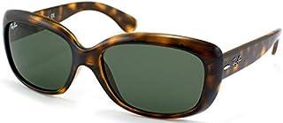 Ray-Ban Women's Jackie Ohh Polarized Rectangular Sunglasses
