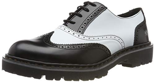 art Herren C010 City-Leader Cambridge Klassische Stiefel, Weiß (White/Black White/Black), 36 EU
