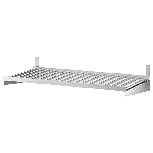 IKEA ASIA KUNGSFORS Regal Edelstahl