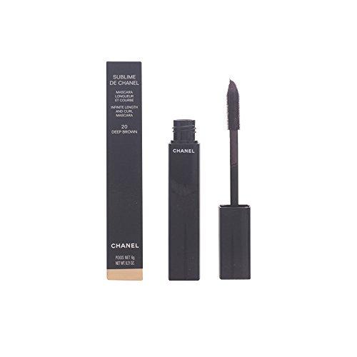 Chanel Sublime Mascara 20 - tief braun - Damen, 1er Pack (1 x 1 Stück)