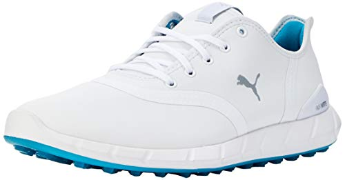 PUMA Damen Ignite Statement Low Wp Golfschuhe, Weiß White-Quarry 03, 37.5 EU