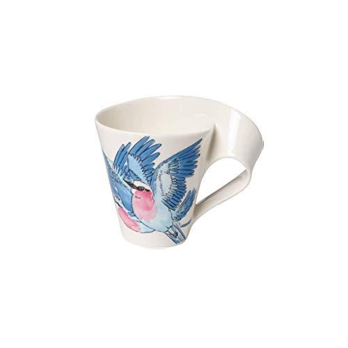 Villeroy & Boch NewWave Caffè Taza de café 'Carraca lila', 300 ml, Altura: 11 cm, Porcelana Premium, Morado