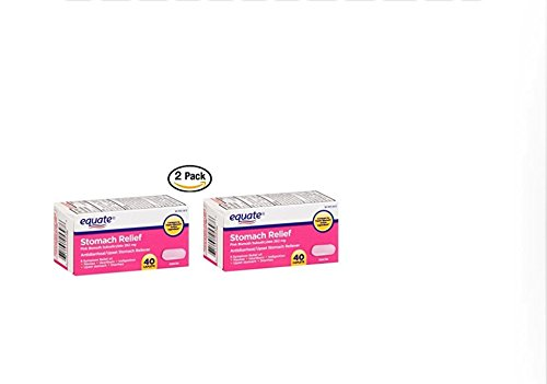 Equate Stomach Relief Caplets 40ct (2)