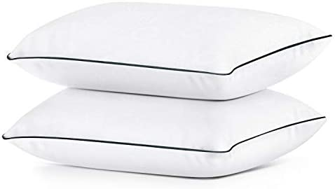 Coolzon Bed Pillows for Sleeping Standard Pillow Set of 2 Gel Pillow Home Hotel Collection Fluffy product image
