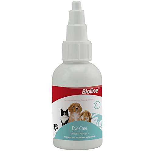PetSol Sanfte Augenpflege Drops für Hunde und Katzen