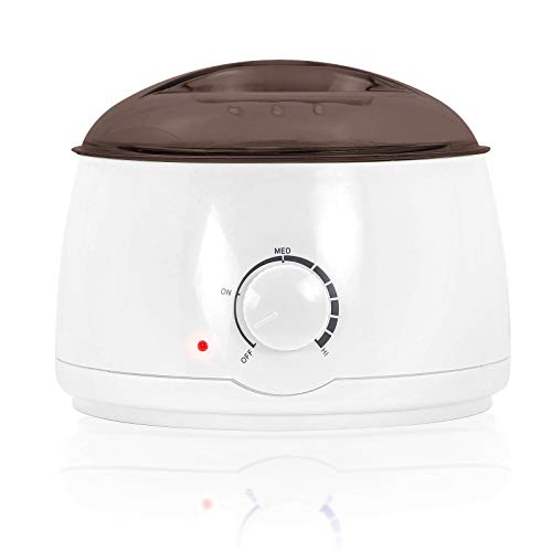 Salon Sundry Portable Electric Hot Wax Warmer Machine for Hair Removal - Purple Lid