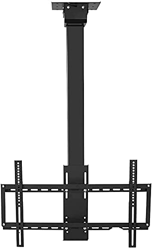 BNFD TV Stand Electric Ceiling TV Bracket Intelligent Remote Control Automatic Lifting TV Ceiling Rack Adjustable