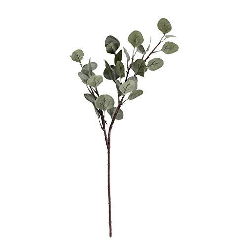 Shinehua bladontwerp Realistische kunstige Money Tree potplanten kunstmatige bloem Geld-Boom Plant zijden bloemen boeket voor kantoor, keuken, tuin, party wanddecoratie 1PCS #1