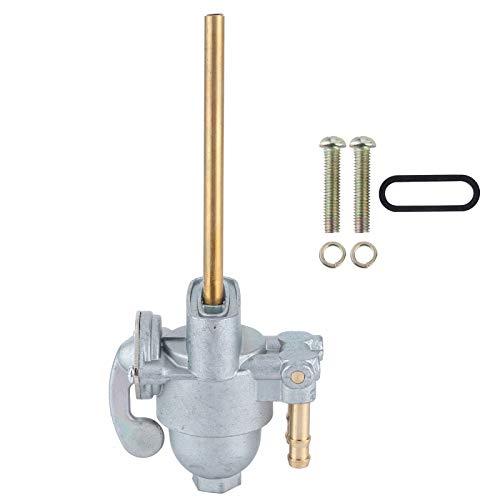 Llave de purga de combustible, 16950‑300‑020 Llave de combustible, válvula de combustible para llave de purga Válvula de combustible para CB350F 1972-1974 (ver nota) Fit CB550K 1974