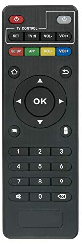 ALLIMITY Mando a Distancia reemplazado por MXQ Android TV Box MXQ-4K MXQ-Pro RK3229 T95X T95 T95M T95N T95-S1 T95-S2 H96 H96-Pro+ X96 X96-MINI M9C-Mini MX9 M8 M8C M8S M9C M10