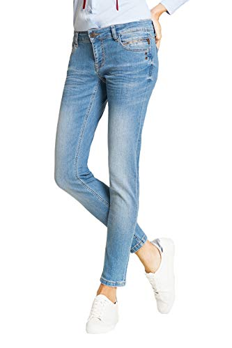BlueFire Damen Jeans Tyra Skinny Fit Stoned Blue (81) 31/32