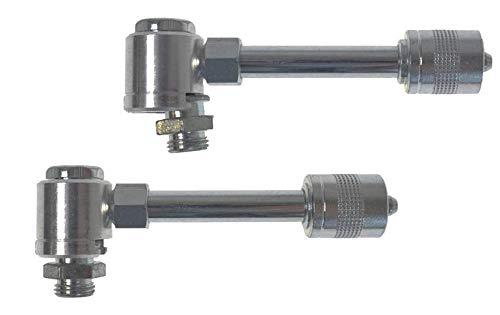 UMETA Schnellwechselanschluss Adapter für Flachschmiernippel mit 16 mm Kopf - Typ 200/M1