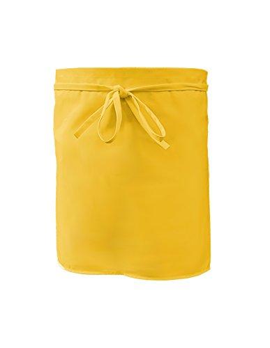 Grevotex Vorbinder 50x100 cm gelb (viele Farben) Schürze Kochschürze Kellnerschürze Backschürze