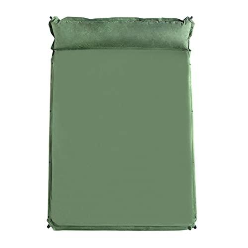 XYZLEO Esterilla Acampada Capa Camping Esterillas Inflables Ultraligera Colchon Acampada Dormir de Acampada Colchonetas Hinchables para Viajes Senderismo y Camping