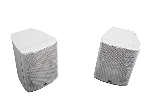 2X Elac 05 SAT Lautsprecher Boxen Satelliten Silber