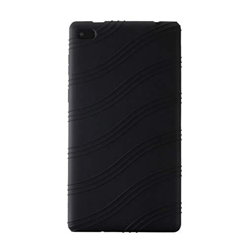 Xingsiyue TB-7304F/X/I/N Funda - TPU Gel Protección Funda Cover para 7' Lenovo Tab 7 Essential TB-7304F/X/I/N Tableta (Negro)