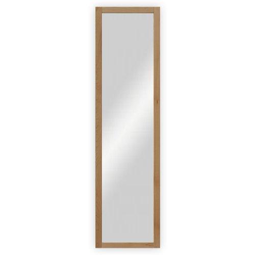 dreiBaum Wand- / Garderobenspiegel mit Holzrahmen, Buche lackiert - ca. 39 x 102,5 cm