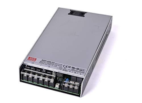 KingLed - Mean Well Alimentatore AC/DC Modello RSP-500-24 da 500W 24V Trasformatore Switching Non Impermeabile IP20 Per Prodotti a Led Meanwell Serie RSP cod. 2664