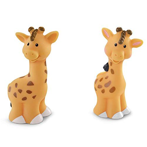Fisher Price Little People Animals  Noah s Ark  Zoo Animals  Male & Female  Giraffe Family Pair  Set